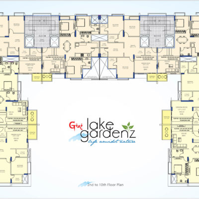 2nd to 10th Floor Plan